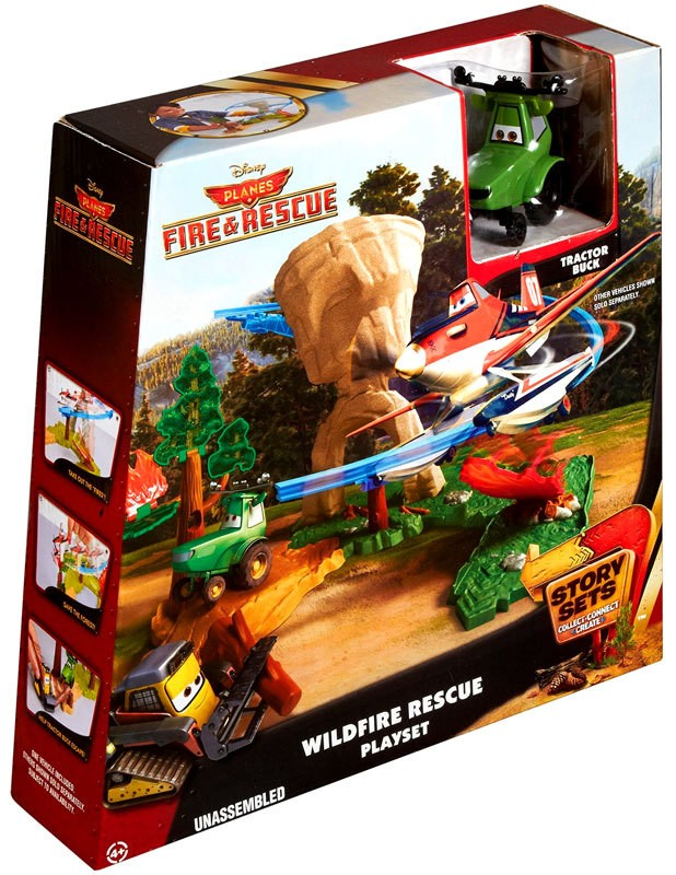 Mattel Disney Planes Fire & Rescue Story Sets Wildfire Rescue