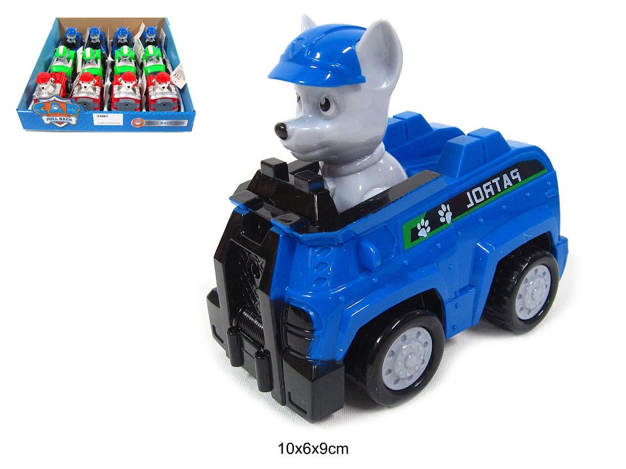 Patrol figūra mašīnā