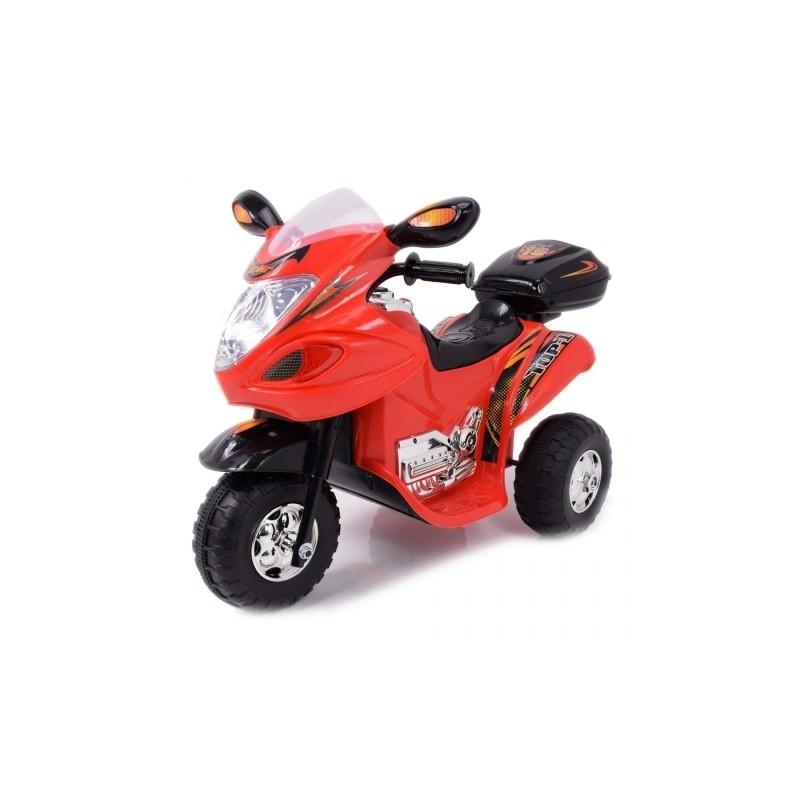 Bērnu motocikls ar akumulatoru sarkans HL-238