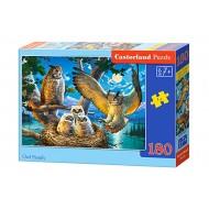Puzle Castorland  180 B-018437 OWL FAMILY