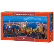 Puzle Castorland  600 B-060290 HONG KONG TWILIGHT