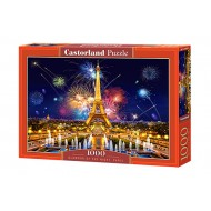 Puzle Castorland  1000 C-103997 GLAMOUR OF THE NIGHT, PARIS
