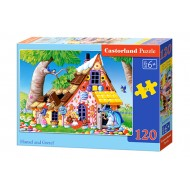 Puzle Castorland  120 B-13333 HANSEL AND GRETEL