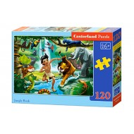 Puzle Castorland  120 B-13487 JUNGLE BOOK