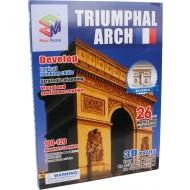 3D puzle Triumfa arka
