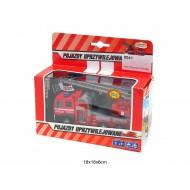 Metāla ugunsdzēsēju mašīna