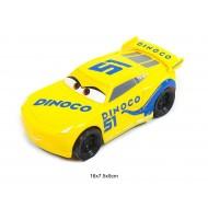 Dzeltena mašīna Dinoco