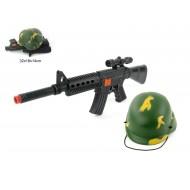 Karavīra komplekts ar kasku Assault