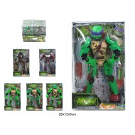 Konstruktors - bruņurupucis Ninja