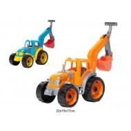 Traktors ar kausu