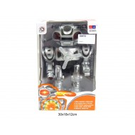 Robots ar gaismu un skaņu KD-8802A