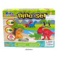 Plastilīns Kid's Dough Dino