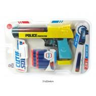 Pistole POLICE ar mīkstām lodēm