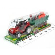 Traktors ar ekskavatoru