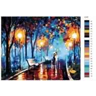 Glezna pēc numuriem, 40 x 50, LA18