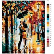 Glezna pēc numuriem - Romantika 40x50 LA38