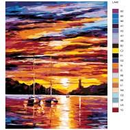 Glezna pēc numuriem - Jūra 40x50 LA40