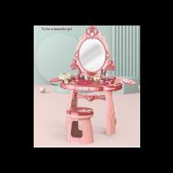 Bērnu kosmētikas galds ar krēslu