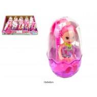 кукла в яйце с подсветкой