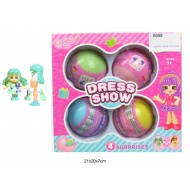 Кукла в яйце Dress show